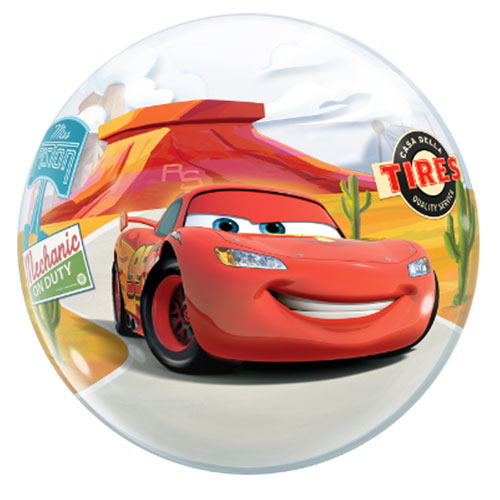 Disney Pixar Cars Lightning McQueen And Mater Bubble Helium Qualatex Balloon 56cm / 22 in