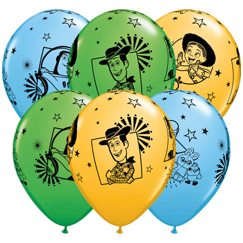 Disney Pixar Toy Story 4 Assorted Latex Qualatex Balloons 30cm / 12 in - Pack of 6 Product Image