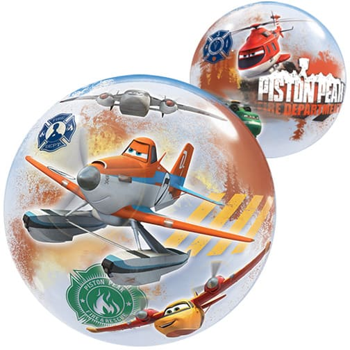 Disney Planes Fire & Rescue Bubble Helium Qualatex Balloon 56cm / 22 in Product Image