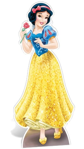 Disney Princess Snow White Lifesize Cardboard Cutout - 168cm Product Image