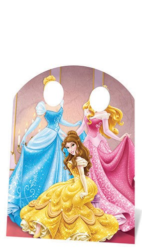 Disney Princess Stand In Cardboard Cutout - 127cm Product Image
