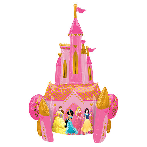 Disney Princesses Airwalker Foil Helium Balloon 139cm / 55 in Product Image
