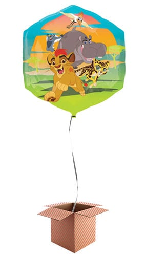 Disney The Lion Guard Helium Foil Giant Balloon - Inflated Balloon in a Box Product Image