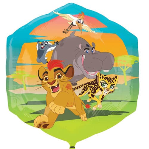 Disney The Lion Guard Helium Foil Giant Balloon 55cm / 22 in Product Image