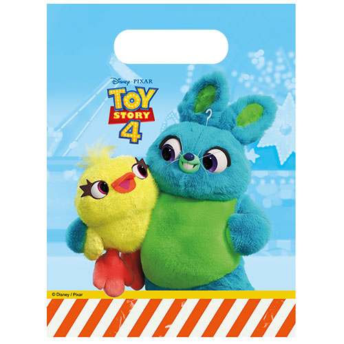Disney Toy Story 4 Party Loot Bags - Pack of 6