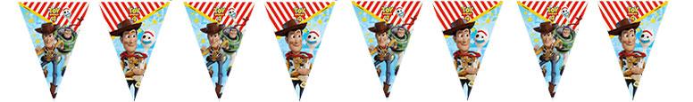 Disney Toy Story 4 Plastic Flag Bunting 230cm