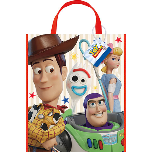 Disney Toy Story 4 Plastic Tote Bag 33cm x 28cm