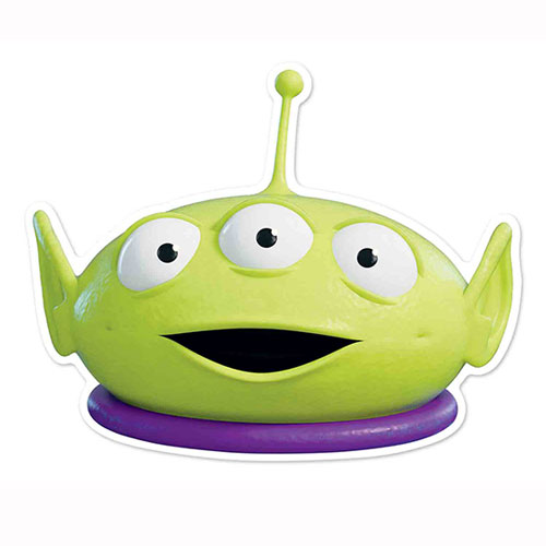 Disney Toy Story Little Green Man Cardboard Face Mask for Children Product Image