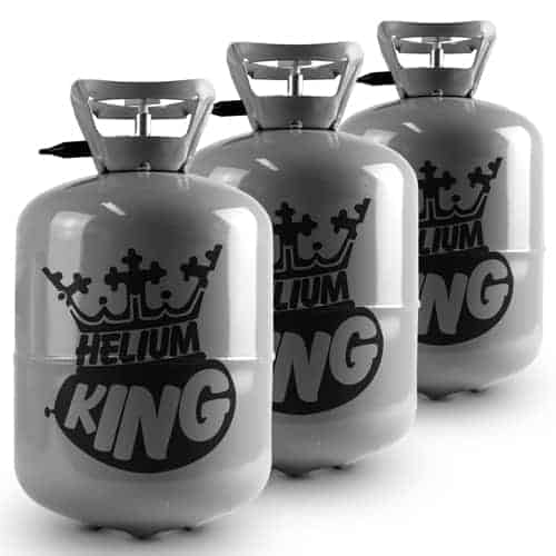 Helium Canister Triple Pack - Fills Up To 90 x 9