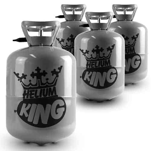Helium Canister Four Pack - Fills Up To 120 x 9