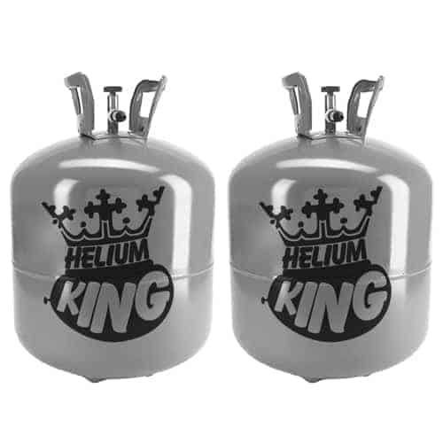Large Helium Canister Twin Pack - Fills Up To 100 x 9