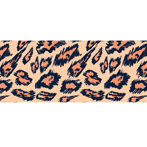 Distorted Animal Print PVC Party Sign Decoration 60cm x 25cm Product Image