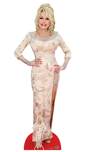 Dolly Parton Lifesize Cardboard Cutout 161cm Product Image