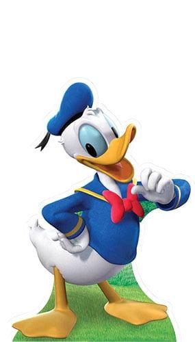 Donald Duck Lifesize Cardboard Cutout - 100cm Product Image