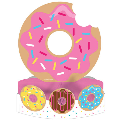 Donut Time Centrepiece Table Decoration 30cm
