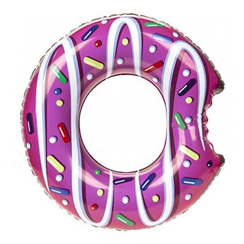 Doughnut Design Inflatable Swim Ring 60cm