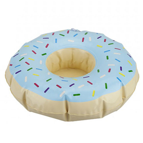 Doughnut Inflatable Drink Holder 20cm Product Image