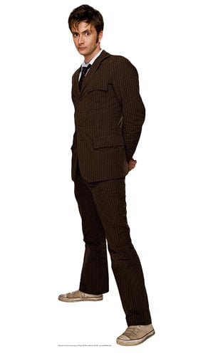 Dr Who 10th Doctor Lifesize Cardboard Cutout - 185cm