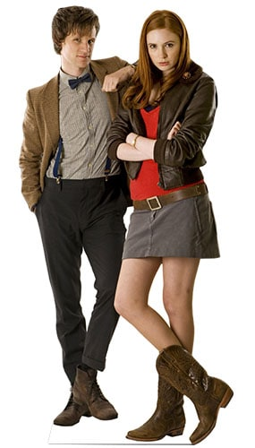 Dr Who 11th Doctor & Amy Pond Lifesize Cardboard Cutout - 180cm Product Image