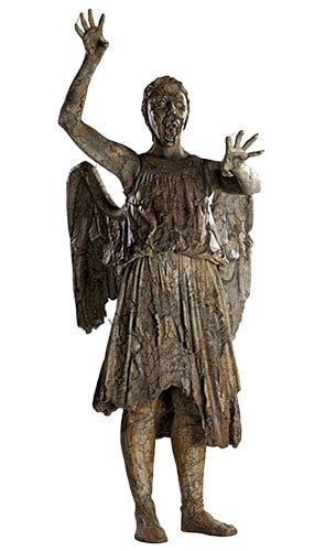 Dr Who Attacking Weeping Angel Lifesize Cardboard Cutout - 182cm Product Image