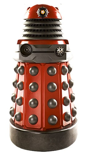 Dr Who Dalek Drone Red Lifesize Cardboard Cutout - 182cm Product Image