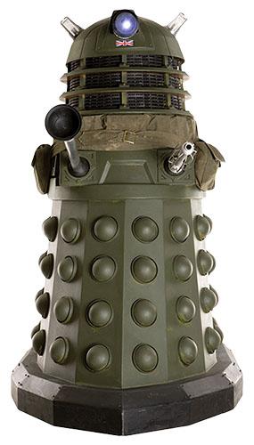 Dr Who Dalek Ironside Lifesize Cardboard Cutout - 173cm Product Image