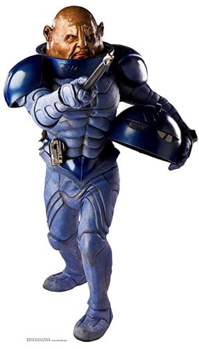 Dr Who General Staal Sontaran Lifesize Cardboard Cutout - 154cm Product Image