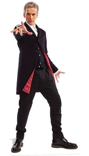 Dr Who Peter Capaldi Doctor Lifesize Cardboard Cutout - 180cm