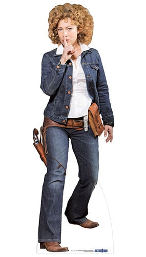 Dr Who River Song Utah Lifesize Cardboard Cutout - 170cm Product Image