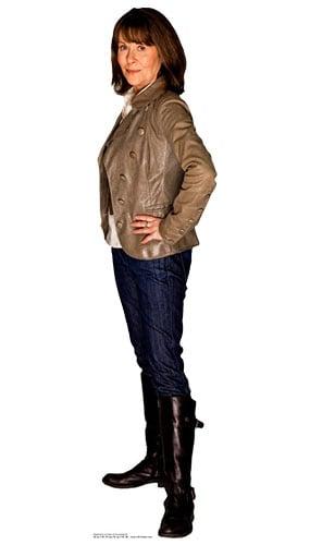 Dr Who Sarah Jane Smith Lifesize Cardboard Cutout - 162cm Product Image