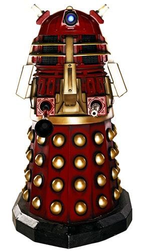 Dr Who Supreme Dalek Lifesize Cardboard Cutout - 173cm Product Image