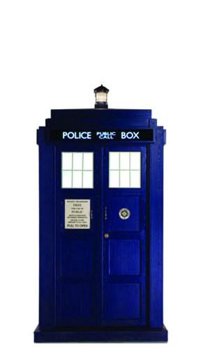 Dr Who Tardis Mini Cardboard Cutout - 95cm Product Image