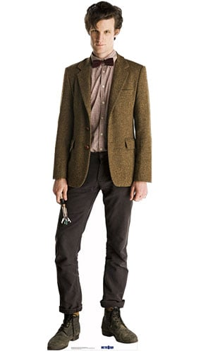 Dr Who The 11th Doctor Lifesize Cardboard Cutout - 180cm Product Image