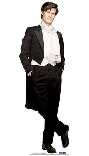 Dr Who The 11th Doctor Wedding Suit Lifesize Cardboard Cutout - 180cm Product Image