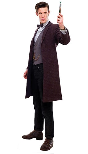 Dr Who The 11th Doctor with Screwdriver Lifesize Cardboard Cutout - 180cm Product Image