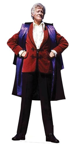 Dr Who The 3rd Doctor Lifesize Cardboard Cutout - 189cm Product Image