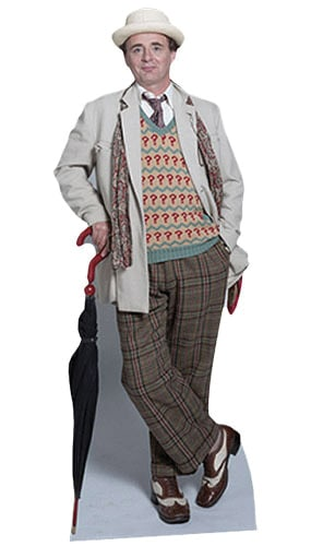 Sylvester McCoy Dr Who 7th Doctor Lifesize Cardboard Cutout 185cm