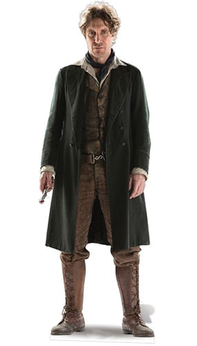 Dr Who The 8th Doctor Paul McGann (50th Anniversary Special) Cardboard Cutout -183cm Product Image