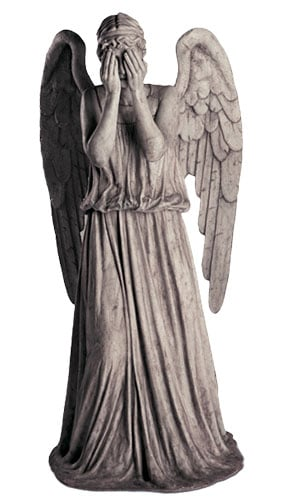 Dr Who Weeping Angel Lifesize Cardboard Cutout - 191cm Product Image