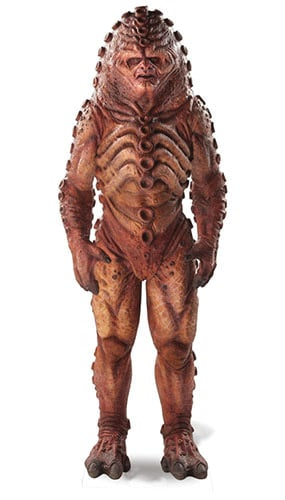 Dr Who Zygon (50th Anniversary Special) Cardboard Cutout - 183cm