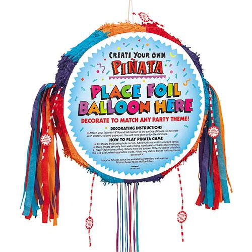 Drum Blank DIY Pull String Pinata Product Image