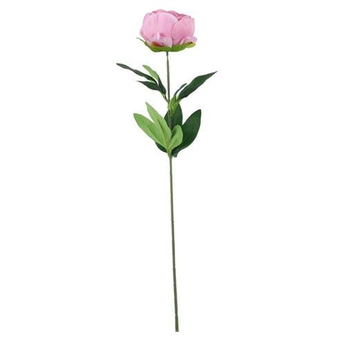 Dusky Pink Arundel Garden Peony Artificial Silk Flower 56cm Product Gallery Image