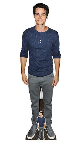 Dylan O'Brien Blue Shirt Lifesize Cardboard Cutout 181cm Product Image