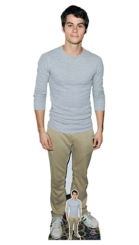 Dylan O'Brien Grey Shirt Lifesize Cardboard Cutout 179cm Product Image