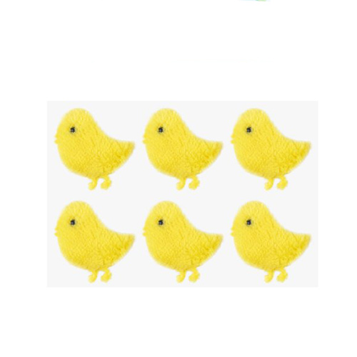 Easter Chick Felt Stickers 4cm - Pack of 6 Product Image
