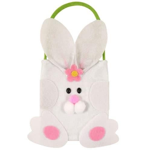Easter Rabbit Design Felt Bag -17cm Product Image