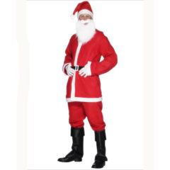 Economy Santa Costume Extra Large Mens Fancy Dress