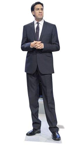 Ed Miliband Lifesize Cardboard Cutout - 180cm Product Image