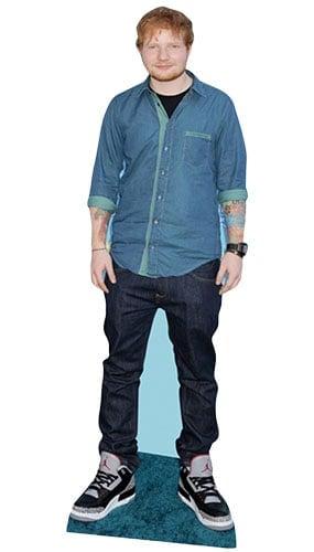 Ed Sheeran Lifesize Cardboard Cutout - 171cm Product Image