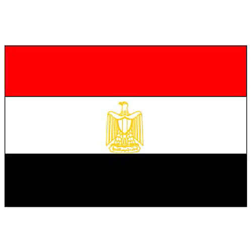 Egypt Flag - 5 x 3 Ft